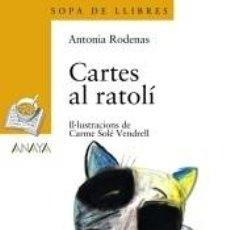 Libros: CARTES AL RATOLÍ. Lote 211650256