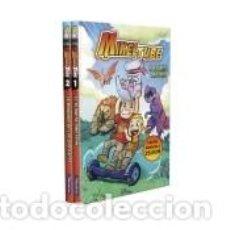 Libros: PACK MIKELTUBE: EL PLANETA DINOTRÓN | LA MÁQUINA DE LOS DISFRACES (MIKELTUBE 1 Y 2). Lote 211670396