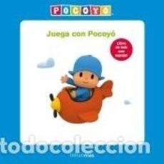 Libros: JUEGA CON POCOYÓ. LIBRO DE TELA. Lote 211782855