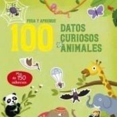 Libros: 100 DATOS CURIOSOS DE ANIMALES. Lote 211782866