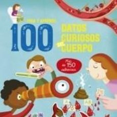 Libros: 100 DATOS CURIOSOS DEL CUERPO. Lote 211782886