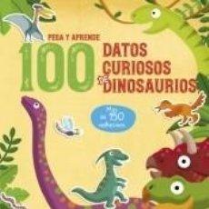 Libros: 100 DATOS CURIOSOS DE DINOSAURIOS. Lote 211782896
