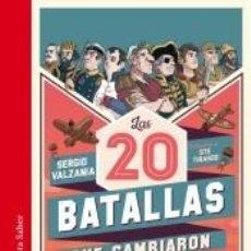Libros: LAS 20 BATALLAS QUE CAMBIARON EL MUNDO. Lote 211782905