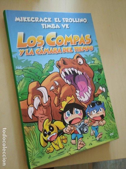 LOS COMPAS Y LA CÁMARA DEL TIEMPO. MIKE, TIMBA, TROLLI. NUEVO (Libros Nuevos - Literatura Infantil y Juvenil - Literatura Infantil)