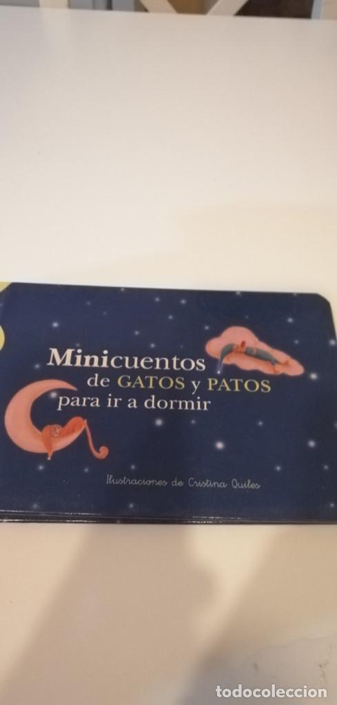 G-25 LIBRO MINICUENTOS DE GATOS Y PATOS PARA IR A DORMIR ILUSTRACIONES DE CRISTINA QUILES (Libros Nuevos - Literatura Infantil y Juvenil - Literatura Infantil)