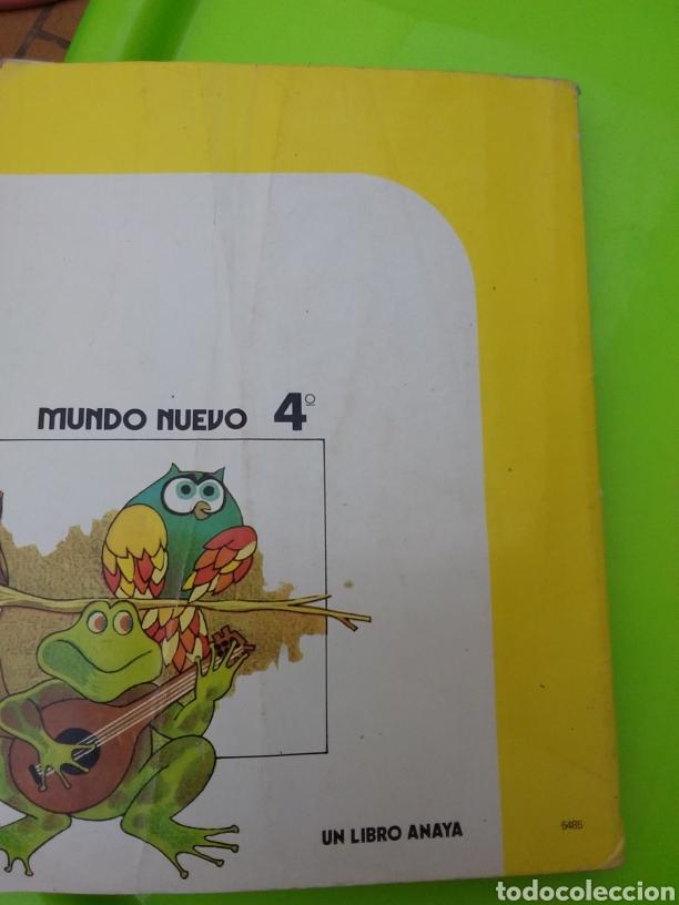 Libros: MUNDO NUEVO 4°E G B ANAYA (( 1983)) - Foto 3 - 214754956
