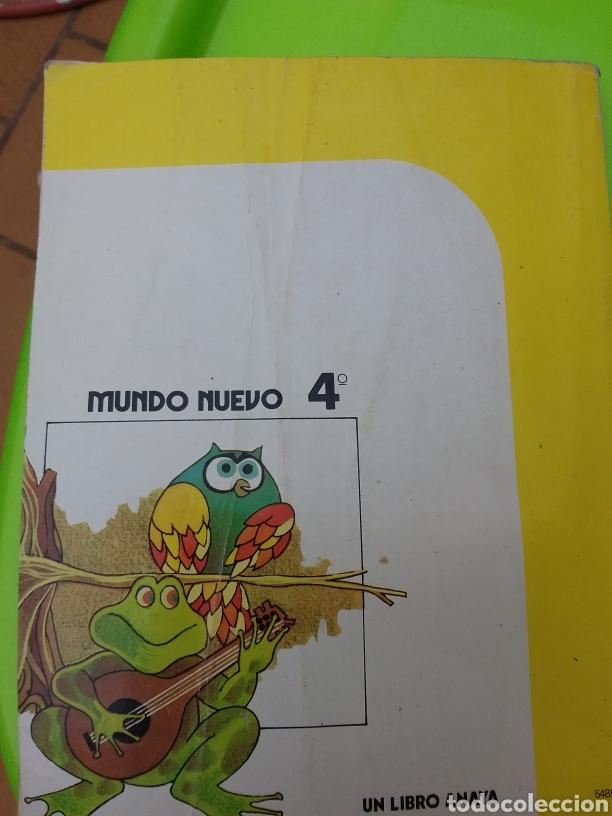 Libros: MUNDO NUEVO 4°E G B ANAYA (( 1983)) - Foto 4 - 214754956