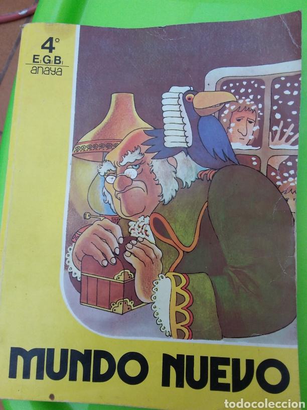 MUNDO NUEVO 4°E G B ANAYA (( 1983)) (Libros Nuevos - Literatura Infantil y Juvenil - Literatura Infantil)