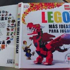 Libros: LEGO MAS IDEAS PARA JUGAR,TAPA DURA,200 PAGINAS,MIDE 28X23,PERFECTO ESTADO. Lote 217477891