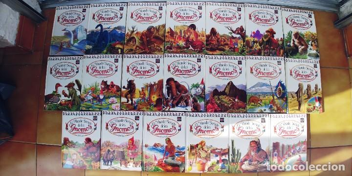 EL MUNDO SECRETO DE LOS GNOMOS-LOTE DE 20 LIBROS,TAPA DURA,AÑO 1988, (Libros Nuevos - Literatura Infantil y Juvenil - Literatura Infantil)