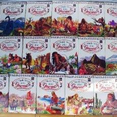 Libros: EL MUNDO SECRETO DE LOS GNOMOS-LOTE DE 20 LIBROS,TAPA DURA,AÑO 1988,. Lote 217936930