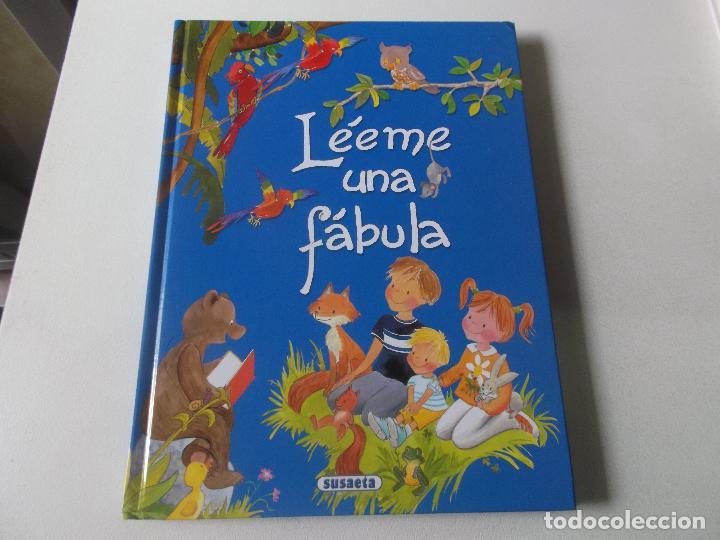 LÉEME UNA FÁBULA. ILUSTRACIONES PILAR CAMPOS. EDIT. SUSAETA. TAPA DURA. (Libros Nuevos - Literatura Infantil y Juvenil - Literatura Infantil)