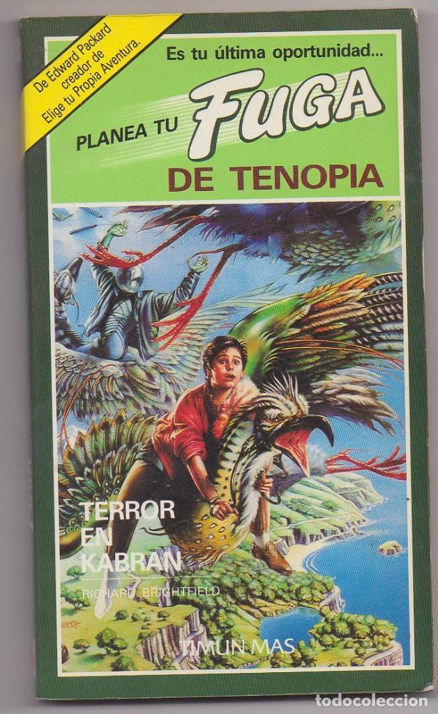 LIBRO PLANEA TU FUGA TERROR EN KABRAN NUEVO (Libros Nuevos - Literatura Infantil y Juvenil - Literatura Infantil)