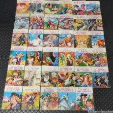 Libros: MINIBIBLIOTECA DE LA LITERATURA UNIVERSAL PETETE COLECCIÓN DE 35 LIBROS LIBRITOS CASI COMPLETA DE 36. Lote 220998220