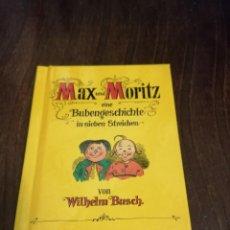 Libros: MAX UND MORITZ. FACSÍMIL COLECCIONISTA MINI. Lote 221492702