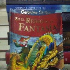 Libros: GERONIMO STILTON.EN EL REINO DE LA FANTASÍA.DESTINO. Lote 222278481