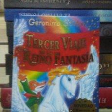 Libros: GERONIMO STILTON.TERCER VIAJE AL REINO DE FANTASÍA.DESTINO. Lote 222279892