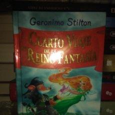Libros: GERONIMO STILTON.CUARTO VIAJE AL REINO DE FANTASÍA.DESTINO. Lote 222280651
