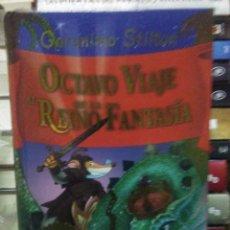 Libros: GERONIMO STILTON.OCTAVO VIAJE AL REINO DE FANTASÍA.DESTINO. Lote 222281790