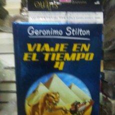 Libros: GERONIMO STILTON.VIAJE EN EL TIEMPO 4.DESTINO. Lote 222282875