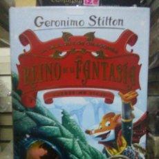 Libros: GERONIMO STILTON.LA ISLA DE LOS DRAGONES DEL REINO DE LA FANTASÍA(DUODÉCIMO VIAJE).DESTINO. Lote 222285857