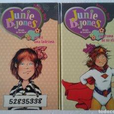 Livres: LOTE 6 LIBROS JUNIE B JONES. Lote 222902800