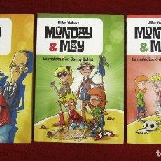 Libros: MONDAY Y MAY EN VALENCIANO - 3 LIBROS INFANTILES. Lote 226416746
