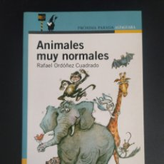 Libros: ANIMALES MUY NORMALES. Lote 227083445