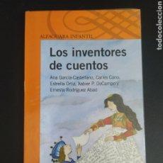 Libros: LOS INVENTORES DE CUENTOS. Lote 227094440