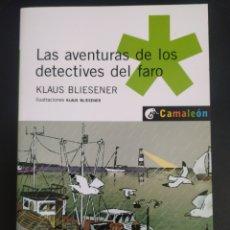 Libros: LAS AVENTURAS DE LOS DETECTIVES DEL FARO. Lote 227097440