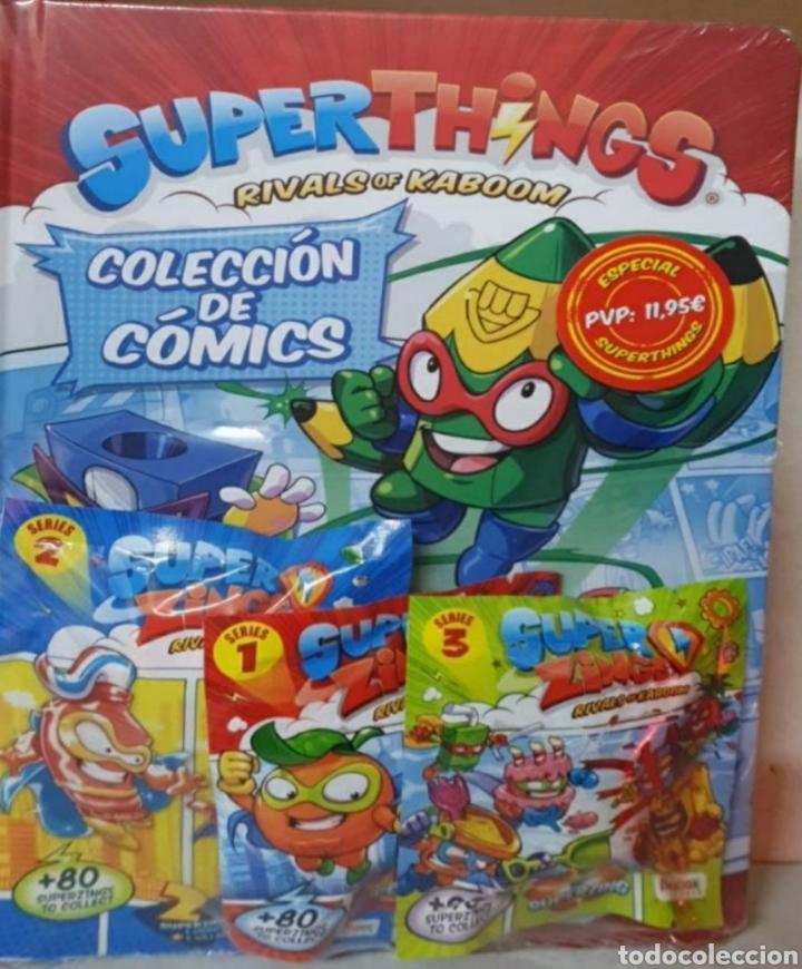 LIBRO DEL COLECCIONISTA DE COMICS SUPERTHINGS (Libros Nuevos - Literatura Infantil y Juvenil - Literatura Infantil)