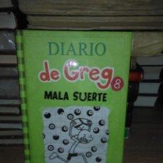 Libros: JEFF KINNEY.DIARIO DE GREG 8 (MALA SUERTE).RBA. Lote 248358150