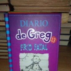 Livros: JEFF KINNEY.DIARIO DE GREG 13 (FRÍO FATAL).RBA. Lote 246267705