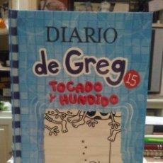 Livros: JEFF KINNEY.DIARIO DE GREG 15 (TOCADO Y HUNDIDO).RBA. Lote 246268915