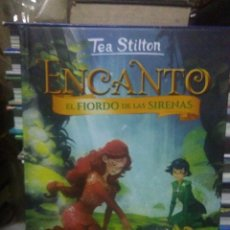 Livres: TEA STILTON.(ENCANTO).EL FIORDO DE LAS SIRENAS.DESTINO. Lote 228804655