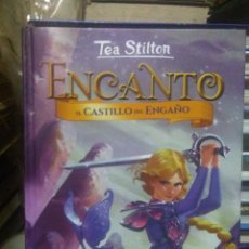 Livres: TEA STILTON.(ENCANTO).EL CASTILLO DEL ENGAÑO.DESTINO. Lote 228805230