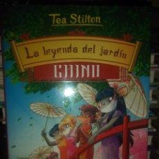 Livros: TEA STILTON.LA LEYENDA DEL JARDÍN CHINO.DESTINO. Lote 228810480