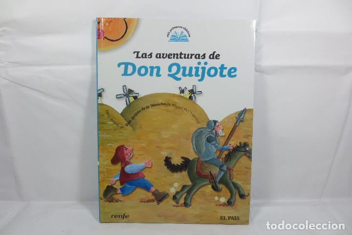 MIS PRIMEROS CLÁSICOS 1 LAS AVENTURAS DE DON QUIJOTE (EL PAÍS - RENFE) (Libros Nuevos - Literatura Infantil y Juvenil - Literatura Infantil)