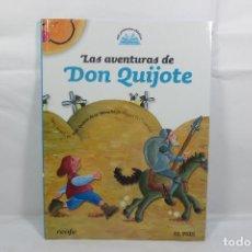 Libros: MIS PRIMEROS CLÁSICOS 1 LAS AVENTURAS DE DON QUIJOTE (EL PAÍS - RENFE). Lote 229926305