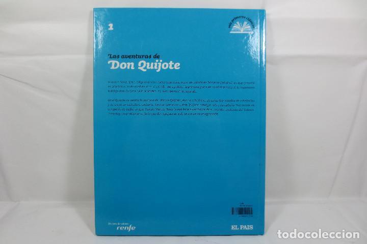 Libros: Mis Primeros Clásicos 1 Las Aventuras de Don Quijote (El País - Renfe) - Foto 2 - 229926305