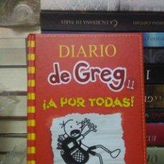 Libros: JEFF KINNEY.DIARIO DE GREG 11 (¡A POR TODAS!)).RBA. Lote 294459353