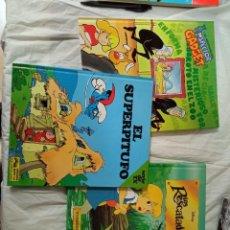 Livres: LOTE 3 CUENTOS LOS RESCATADORES EL SUPERPITUFO INSPECTOR GADGET. Lote 232669740