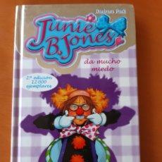 Libros: JUNIE B JONES, DA MUCHO MIEDO,NÚMERO 24. Lote 235093870
