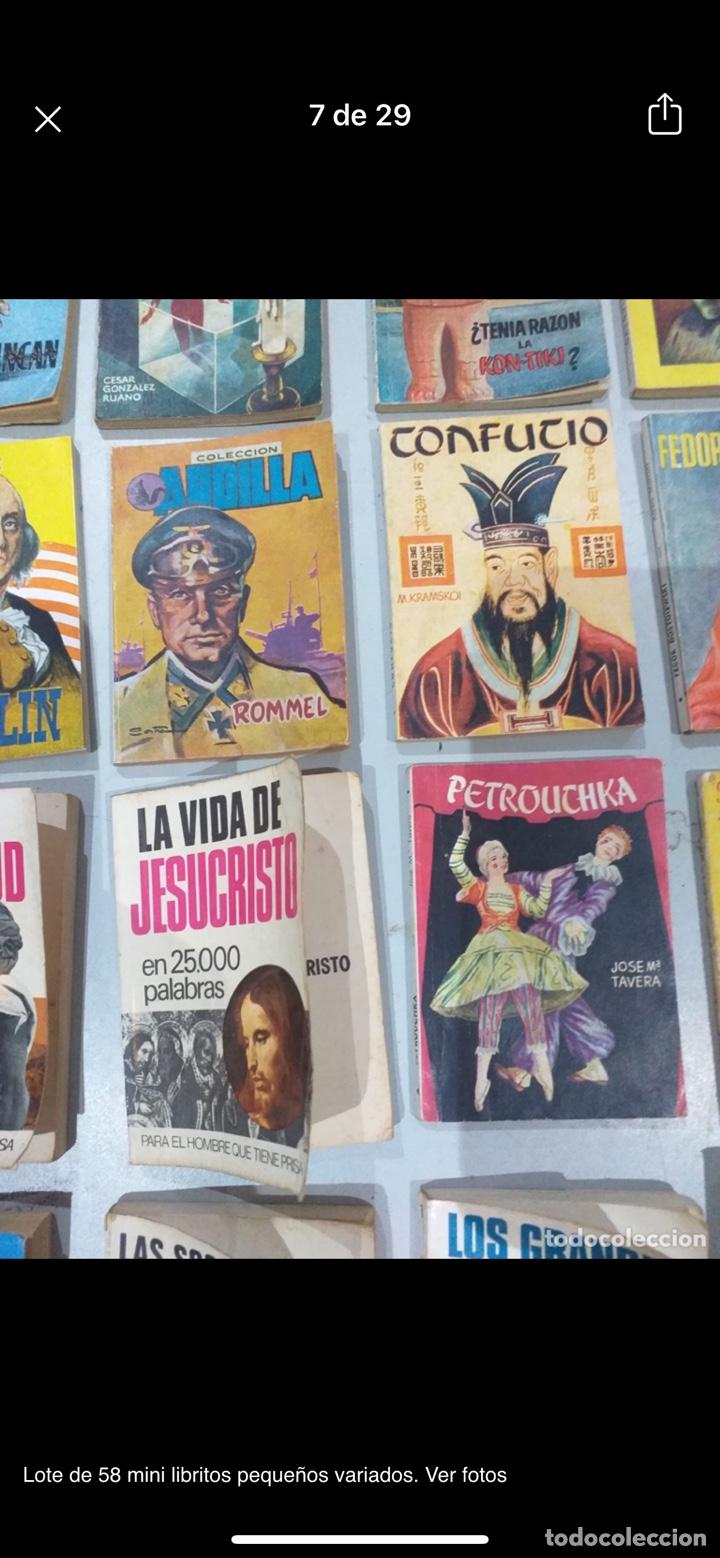 Libros: Lote de 58 mini libritos pequeños variados. Ver fotos - Foto 7 - 235279770