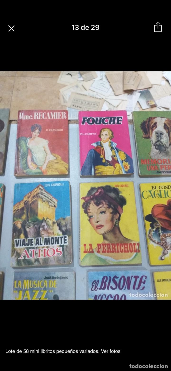 Libros: Lote de 58 mini libritos pequeños variados. Ver fotos - Foto 13 - 235279770