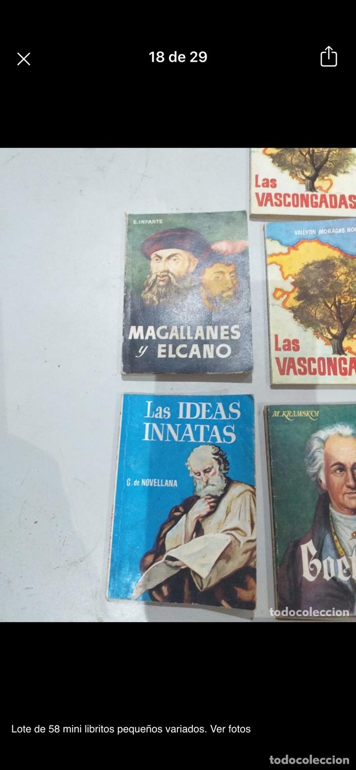 Libros: Lote de 58 mini libritos pequeños variados. Ver fotos - Foto 18 - 235279770