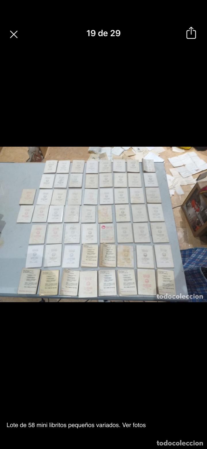 Libros: Lote de 58 mini libritos pequeños variados. Ver fotos - Foto 19 - 235279770
