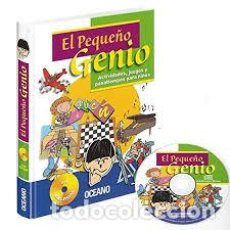 Libros: EL PEQUEÑO GENIO. ACTIVIDADES, JUEGOS Y PASATIEMPOS PARA NIÑOS. INCLUYE CD. Lote 236343640