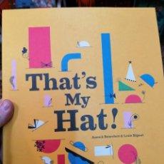 Libros: THAT'S MY HAT. CUENTO INFANTIL DESPLEGABLE. POP-UP. Lote 236567760