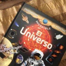 Libros: EL UNIVERSO (ENCICLOPEDIA INCREÍBLE LAROUSSE). Lote 240248935